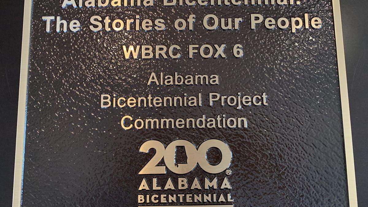 WBRC FOX6 News Receives Bicentennial Legacy Award