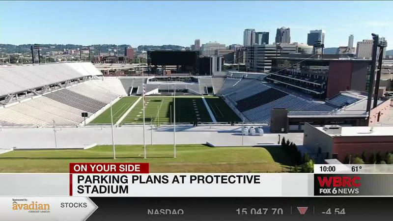 Parking plans at Protective Stadium