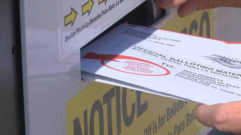 Voters should mail out their vote-by-mail ballot by October 27th.