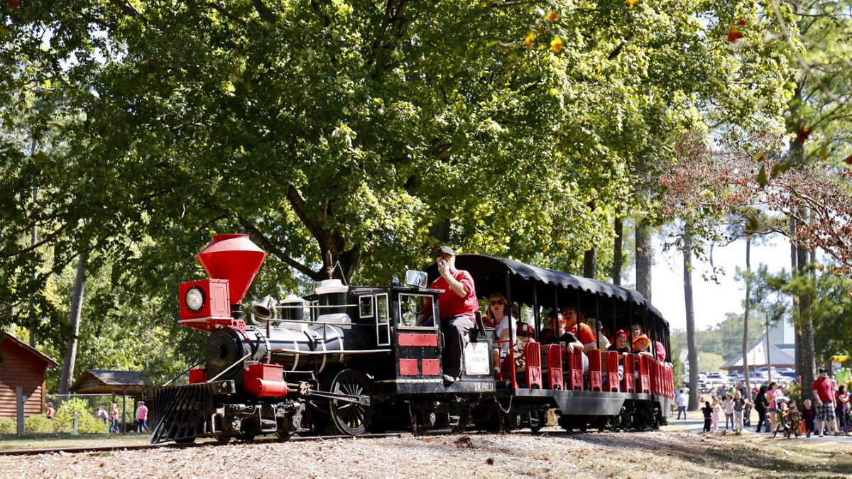 Train at Noccalula State Park