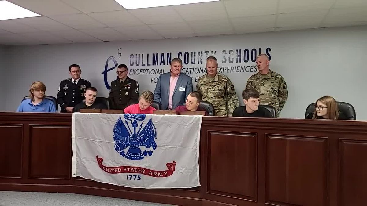 Cullman Co. Military Signing Day