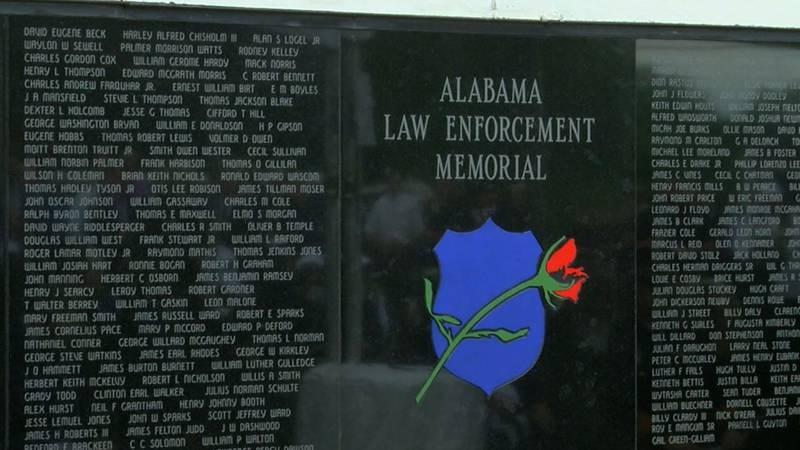 Alabama law enforcement memorial.
