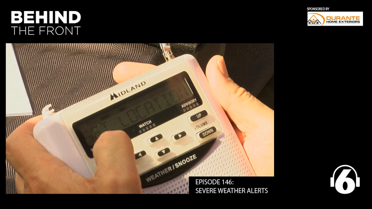 Weather radios are an indispensable part of weather safety and the two experts check off the...
