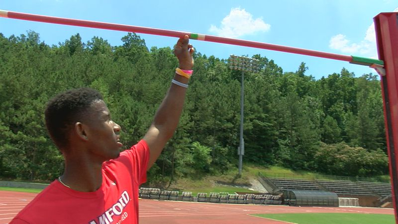 Samford junior Justin Stuckey has qualified for the upcoming Olympic trials in the high jump,...