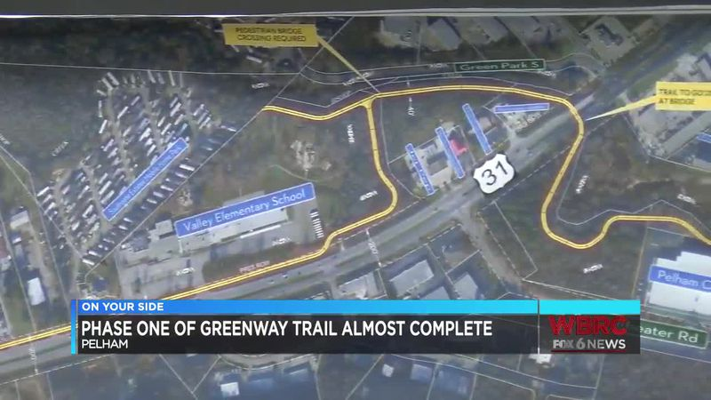 Phase one of greenway trail almost complete