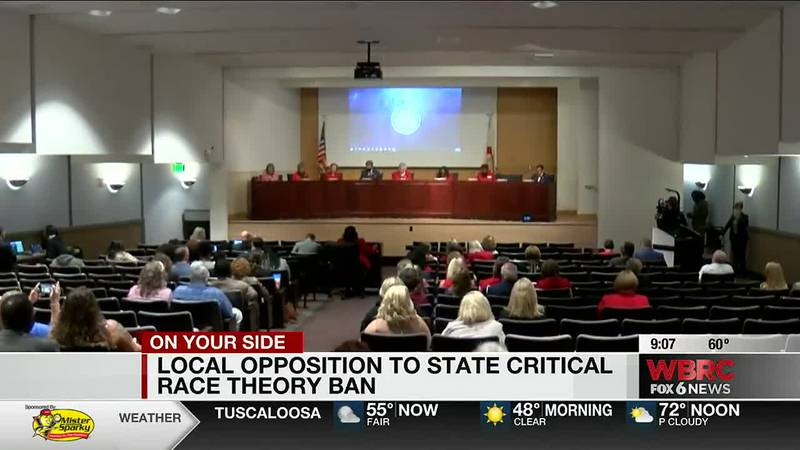 Local opposition to state's Critical Race Theory ban
