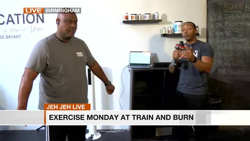 Train and Burn with Curtis Starks