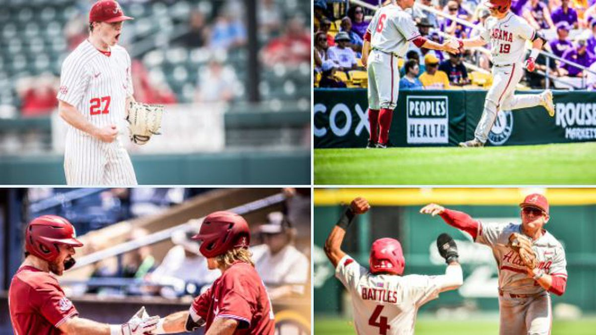 Alabama baseball earns spot in NCAA Tournament