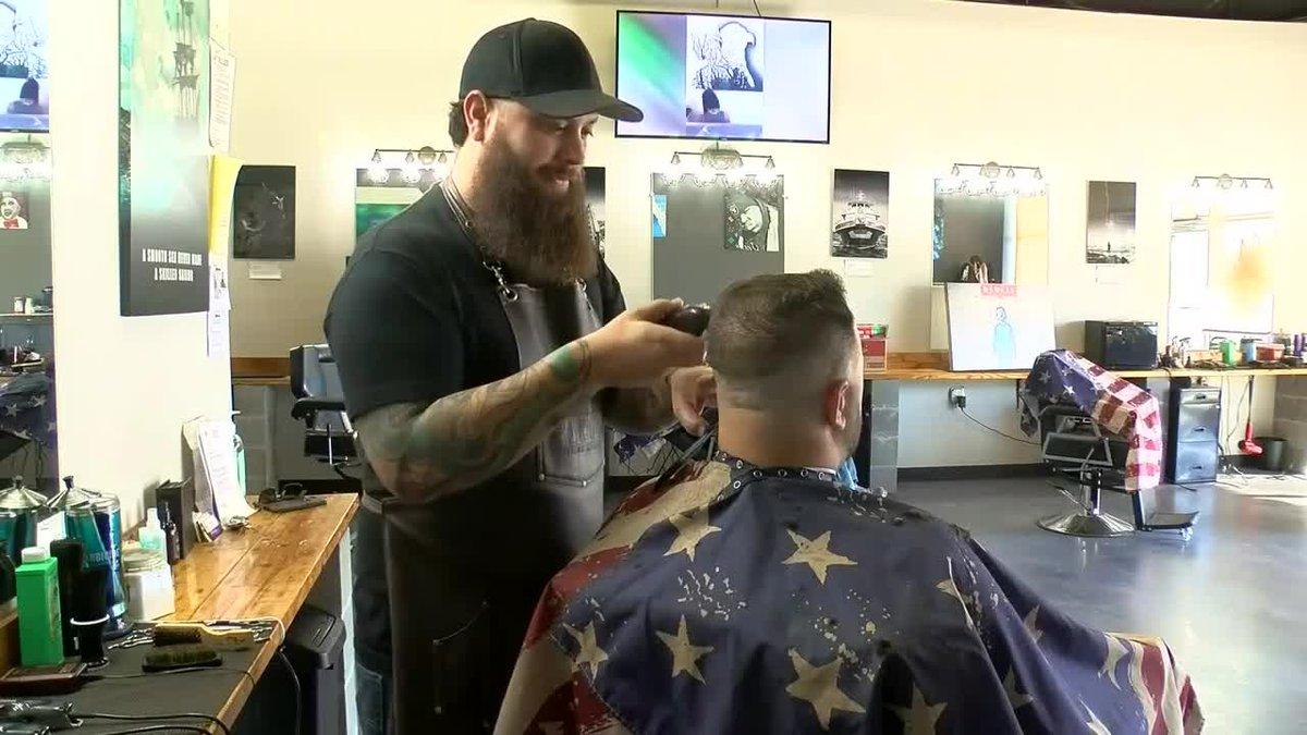 Non-profit Provides Free Haircuts