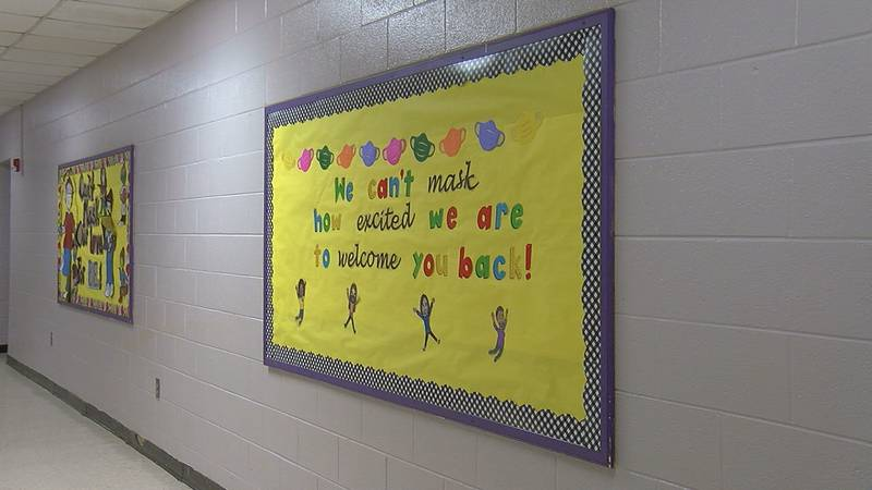 Some Jefferson County School students were welcomed back into the classroom Monday for...