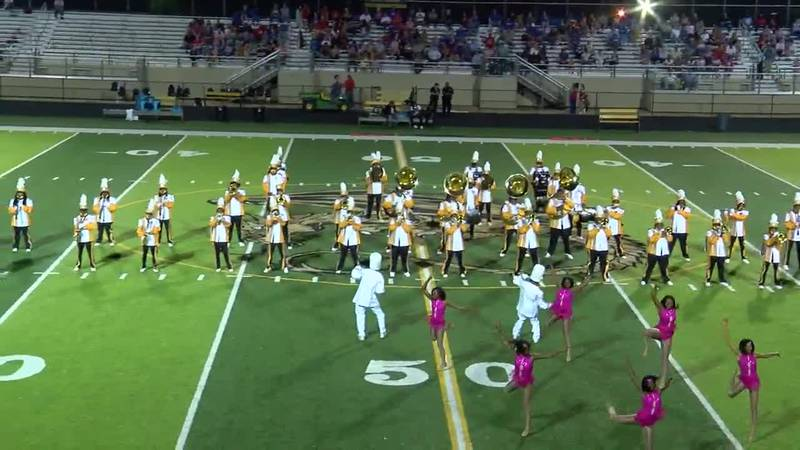Wenonah High School Mighty Marching Dragons band
