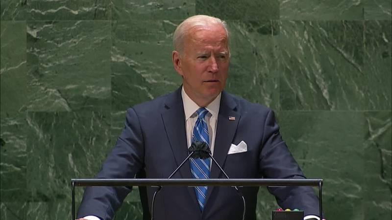 President Biden on world stage amid crises.