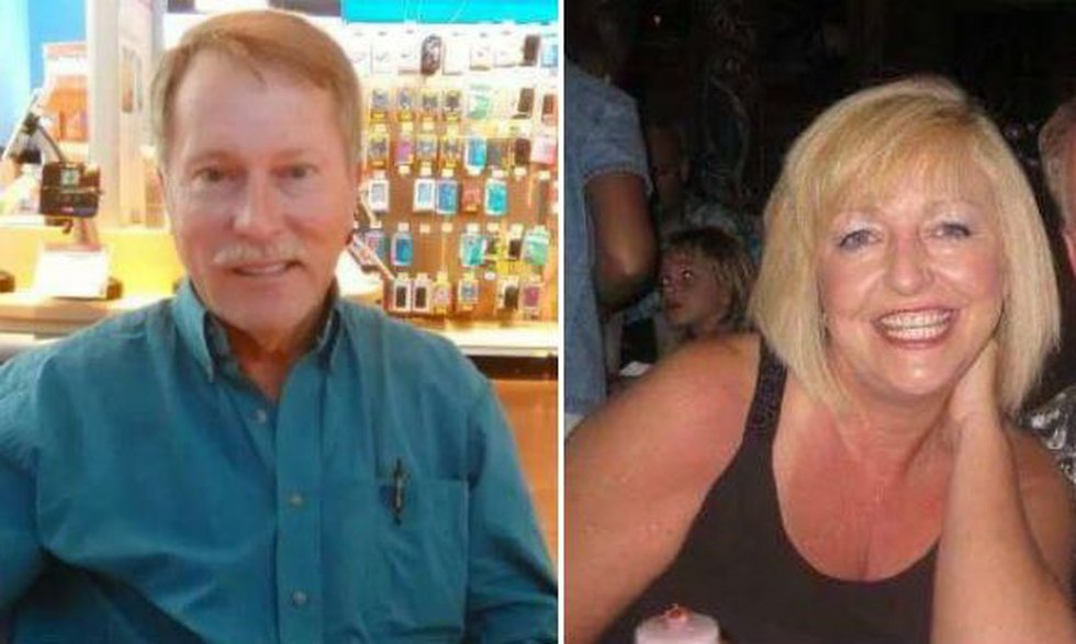 Hamilton shooting suspect Jimmy Cooper and victim Linda Cole. Source: Facebook