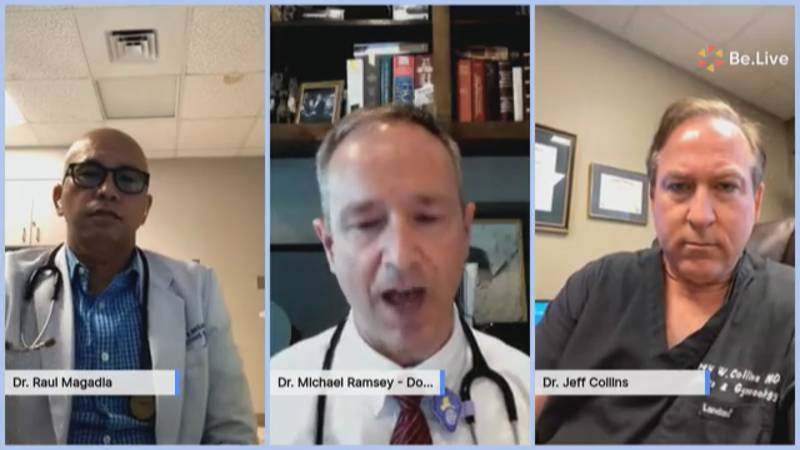 The doctors spoke about how the COVID-19 vaccine effects different demographics of people.