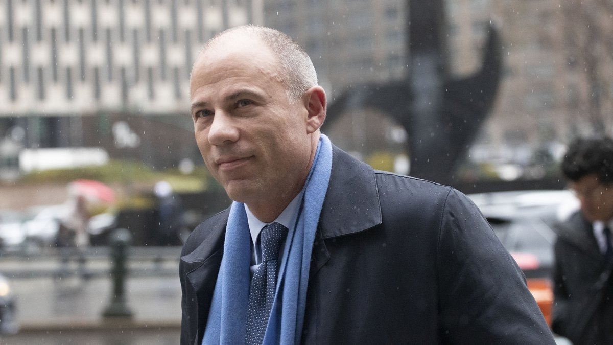 FILE - In this Dec. 17, 2019 file photo, attorney Michael Avenatti arrives at federal court in...