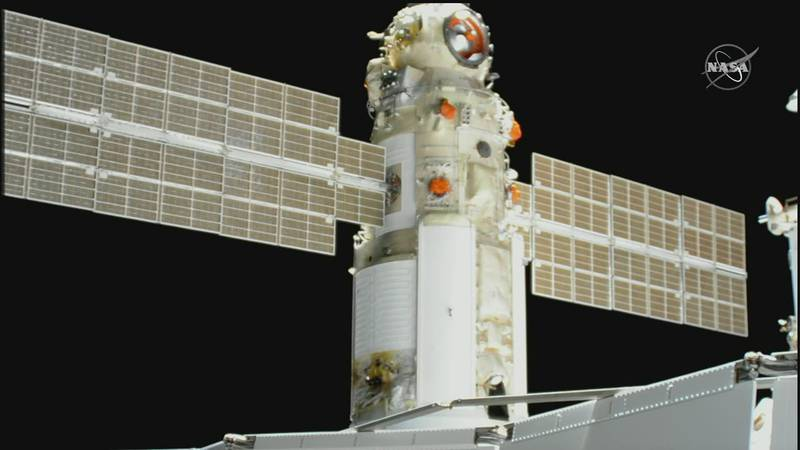 The space station lost control of its orientation for 47 minutes on Thursday, when Russia's...