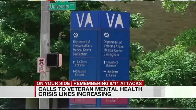 Calls to veteran crisis hotline increasing