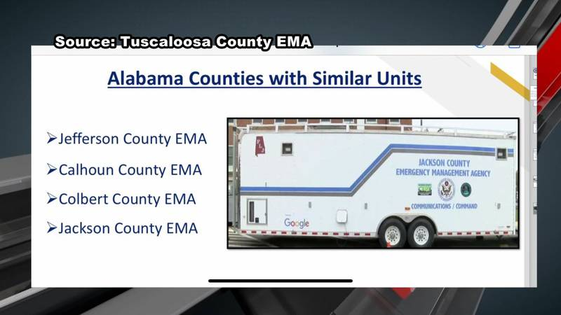 Tuscaloosa County EMA applies for grant to buy new emergency vehicle