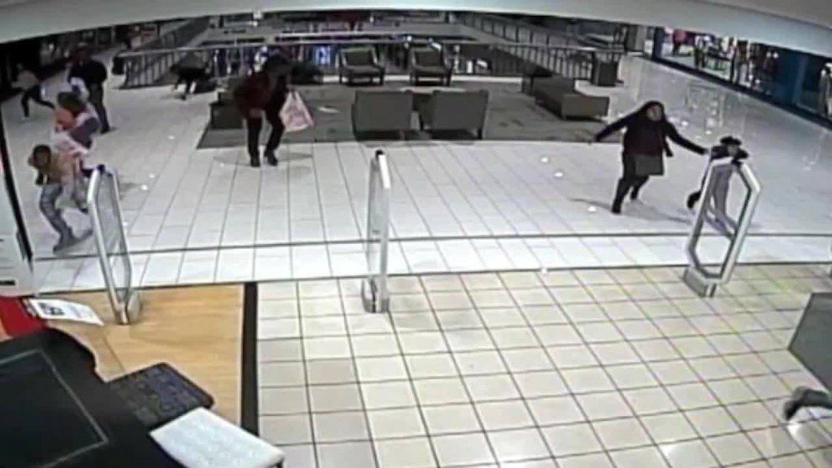 Galleria Shooting Surveillance footage
