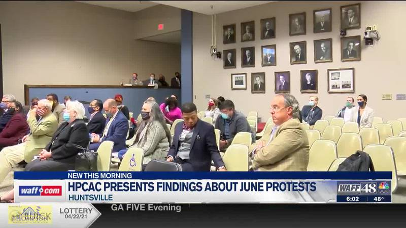 HPCAC presents findings about June protests
