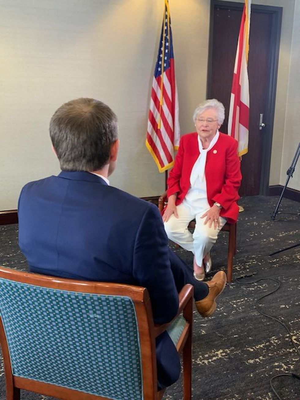 WBRC's Jonathan Hardison sits down with Gov. Ivey