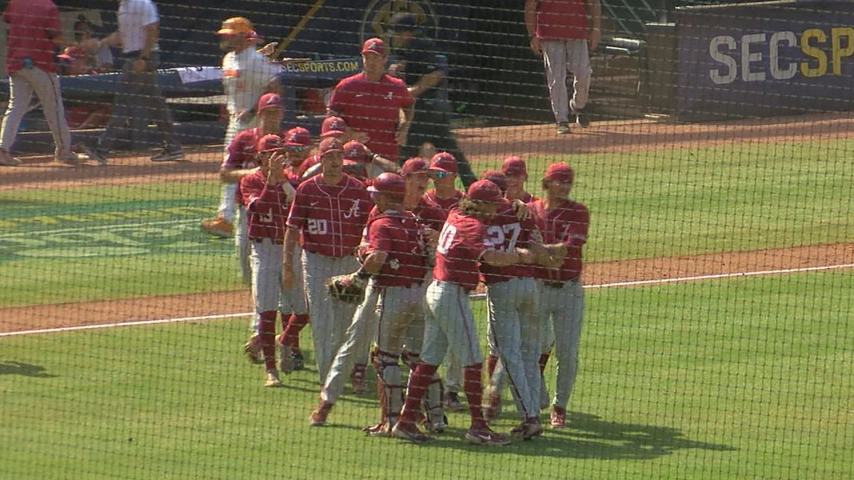 Alabama took down the higher-seeded team for a second straight day, this time claiming a 3-2...