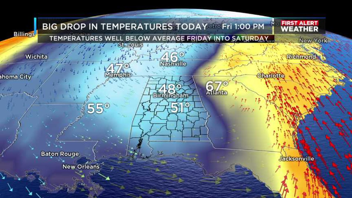 Temperatures will likely drop throughout the day with temperatures in the 50s by this...