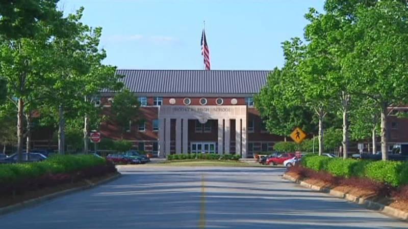 Hoover High School. Source: WBRC video
