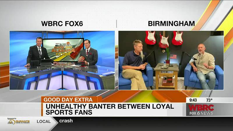 Unhealthy sports banter between fans