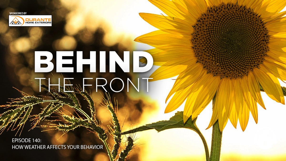 Cold, hot dreary, sunny - your mood may have something to do with what's going on outside your...