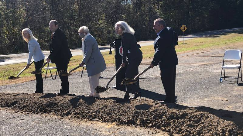 Governor breaks ground on Highway 411 widening project