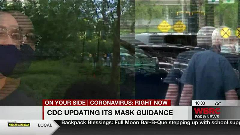 CDC new mask guidance