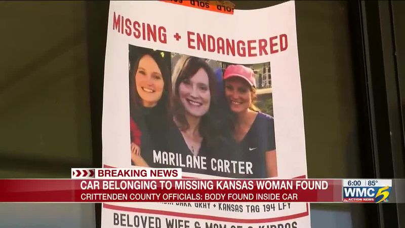 Missing Kansas woman's vehicle found with body inside