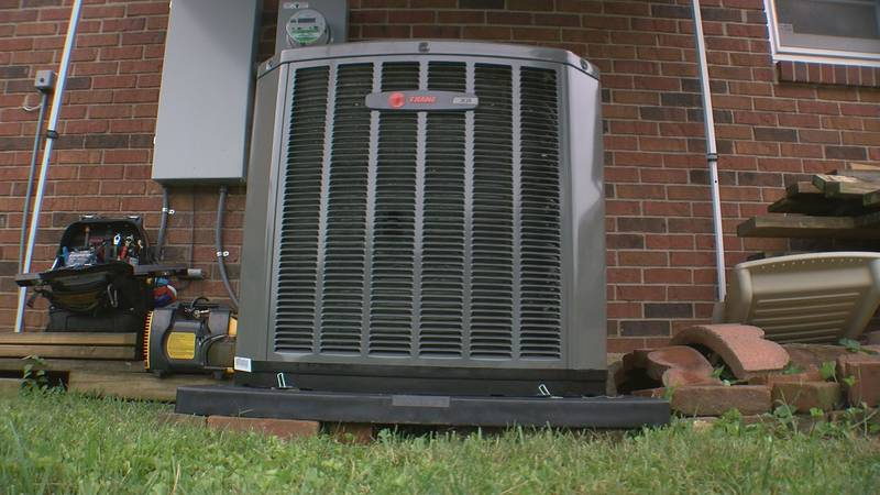 Mike Henson's home is now equipped with a brand new Trane air conditioner, thanks to Bowman's...