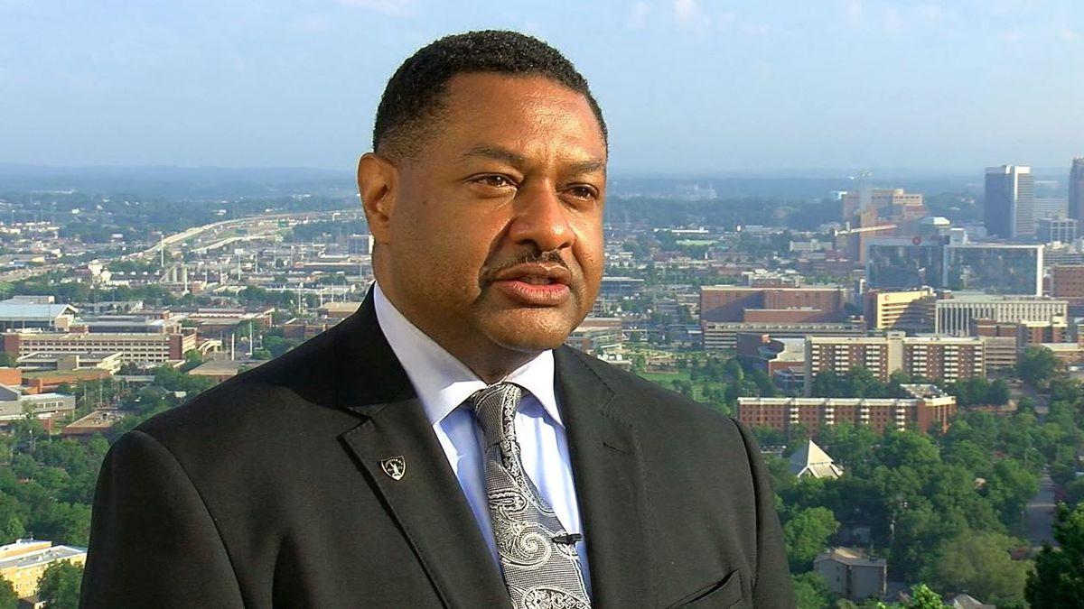 Birmingham Police Chief Patrick Smith. (Source: WBRC video)