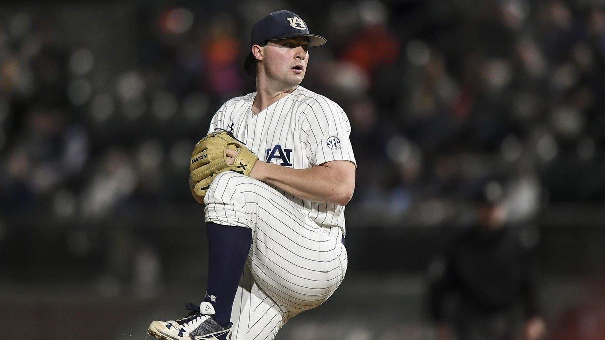 Auburn University junior pitcher Tanner Burns was selected as a Second Team Preseason...