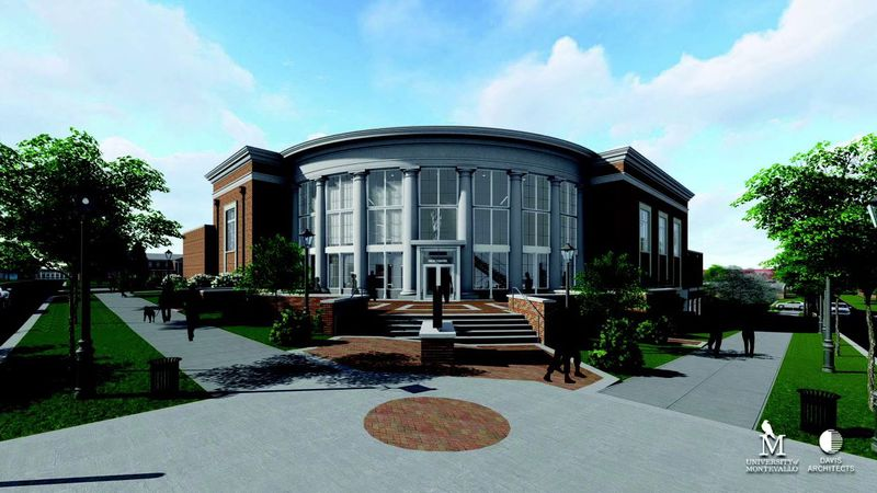 Renderings of the University of Montevallo's new Center of the Arts