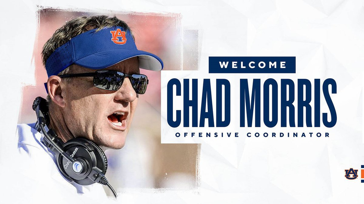 Chad Morris has been announced as the new offensive coordinator at Auburn.