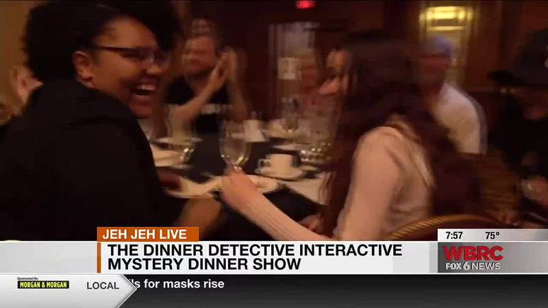 Jeh Jeh joins us live from Hoover for America's Largest Interactive Mystery Dinner Show! This...