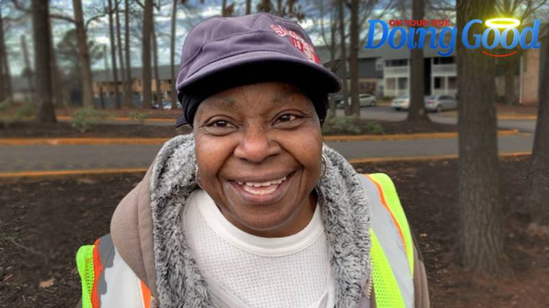 Rosetta Jackson is a self-appointed bus stop sitter and substitute mom.