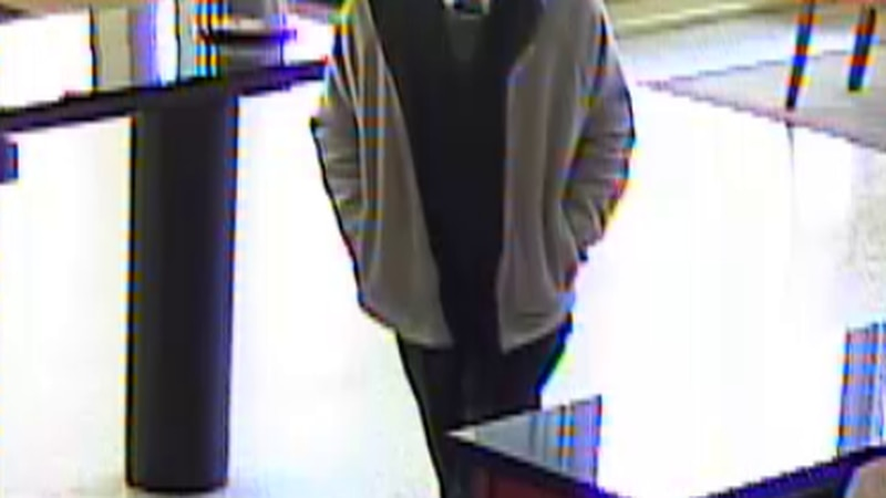 Birmingham police are looking for the man who robbed the Servis 1st Bank on Richard Arrington...