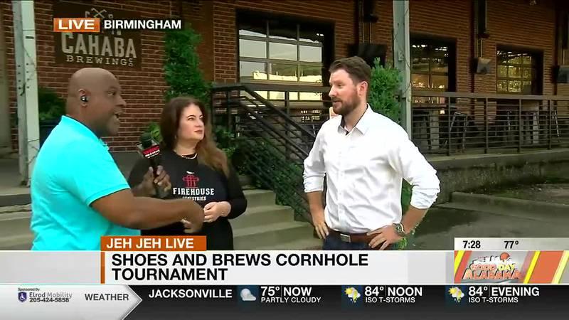 Shoes and Brews Cornhole Tournament
