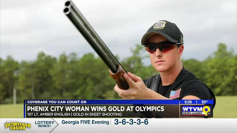 Phenix City woman wins gold at the Olympics