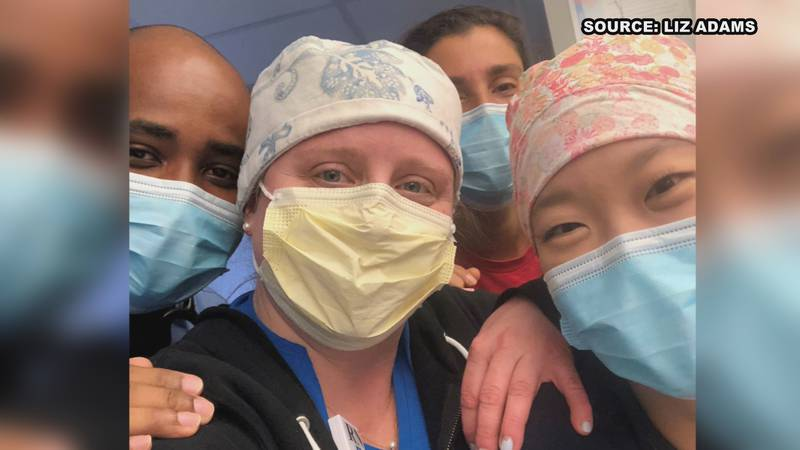 HSV nurse returns from Boston ICU