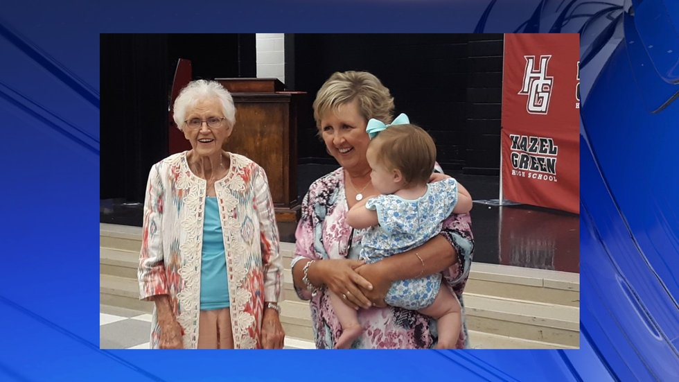 Madison County Schools honors 94-year-old woman with special graduation ceremony