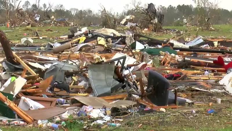 Chilton County family survives tornado